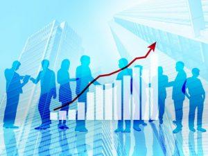 米国株上昇のイメージ写真