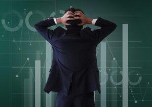 米国株下落