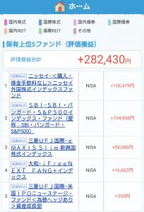 NISA運用報告